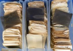 Negatives, 100s of negatives in individual protective sleeves taken in the 1930s/40s/50s showing