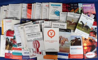 Horse Racing, Racecards, a collection of approx. 150 racecards, 1970's onwards, wide range of