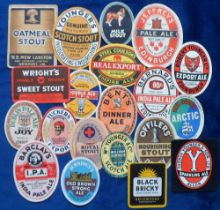 Beer labels, UK, a group of 20 labels, various shapes, sizes and brewer's inc. George Younger Scotch