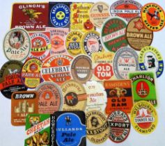 Beer labels, a mixed selection of 60+ labels (including some with contents), various shapes, sizes
