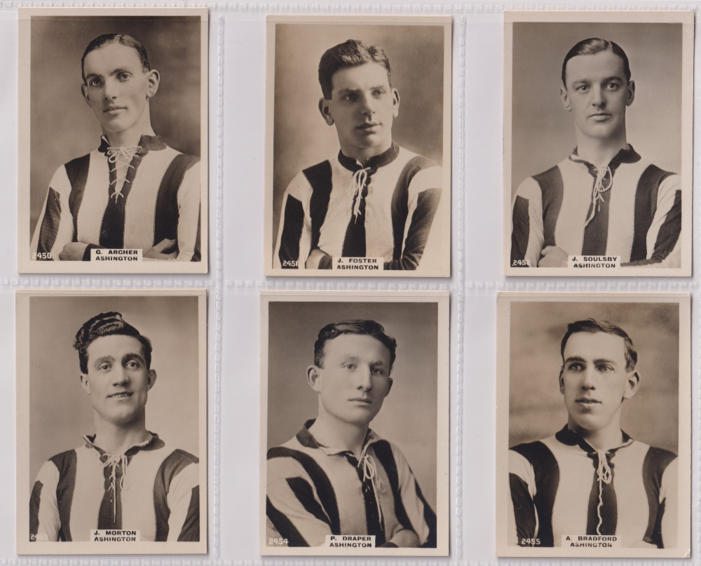 Cigarette cards, Phillips, Footballers (all Pinnace back), 'L' size, 24 different cards, numbered - Image 4 of 5