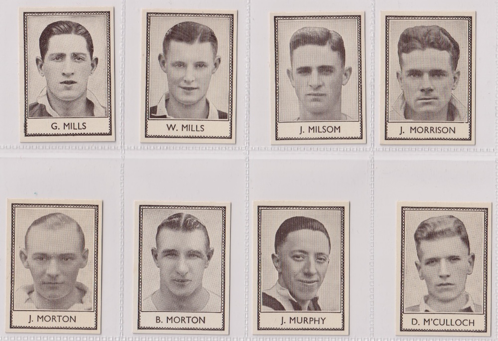 Trade cards, Barratt's, Famous Footballers (Numbered) 'M' size, 1939/40, ref HB-35 E, (set, 110 - Image 19 of 28
