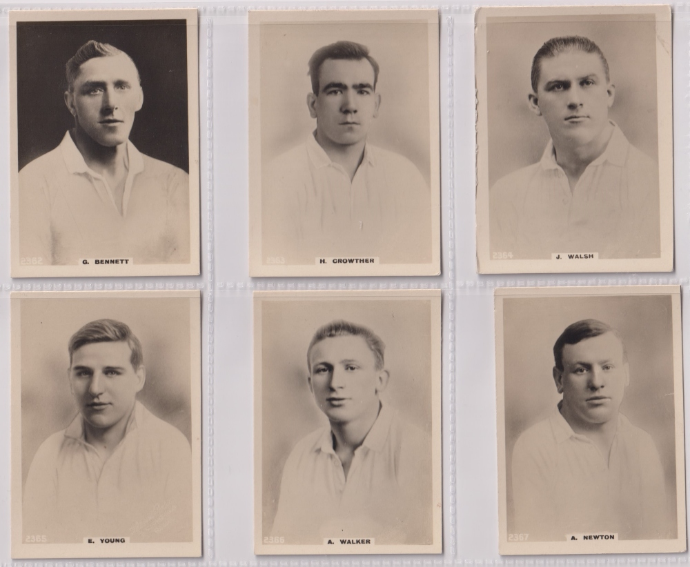 Cigarette cards, Phillips, Footballers (all Pinnace back), 'L' size, 36 different cards, numbered - Image 4 of 7