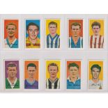Trade cards, Barratt's, Famous Footballers, two sets, Series A10 (50 cards) & Series A15 (50