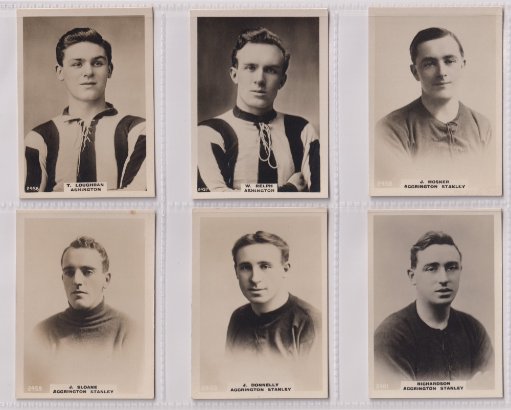 Cigarette cards, Phillips, Footballers (all Pinnace back), 'L' size, 24 different cards, numbered - Image 5 of 5