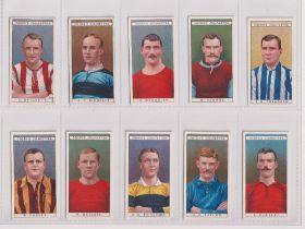 Cigarette cards, Ogden's, Famous Footballers (set, 50 cards) includes Meredith, Manchester United (