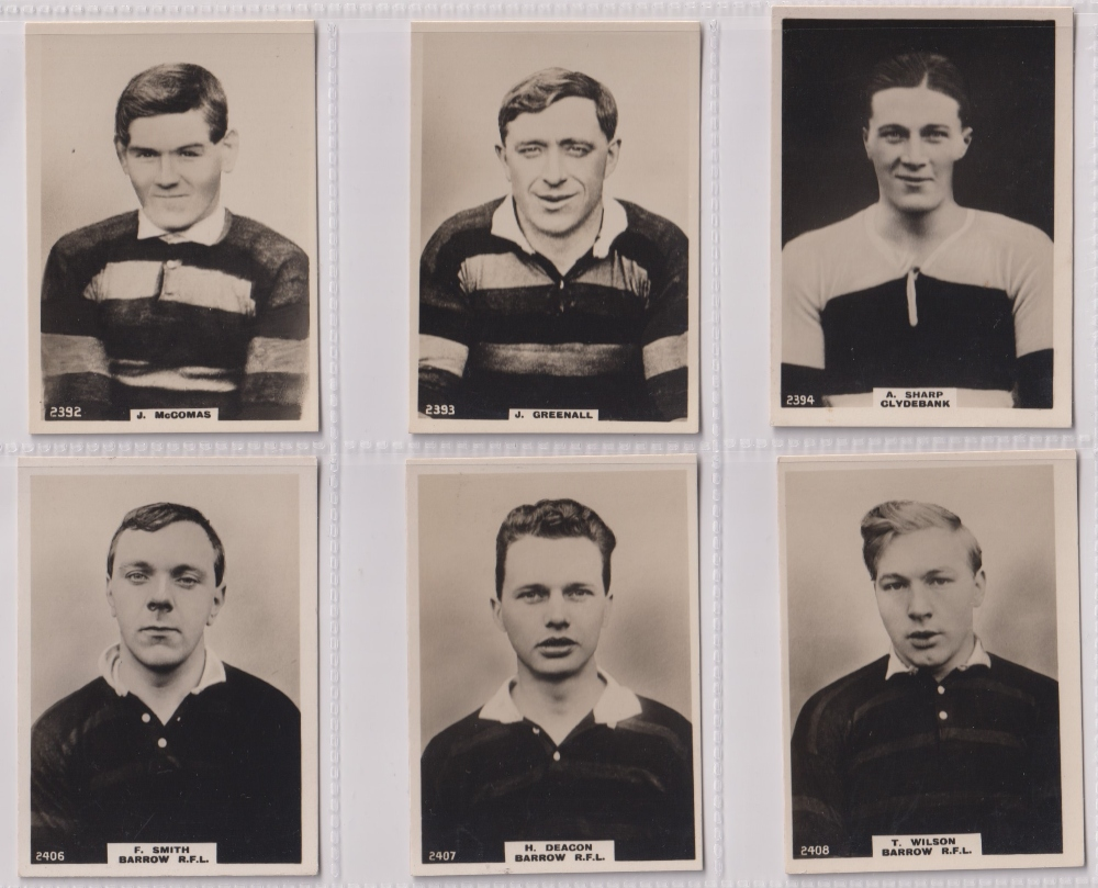 Cigarette cards, Phillips, Footballers (all Pinnace back), 'L' size, 36 different cards, numbered - Image 7 of 7