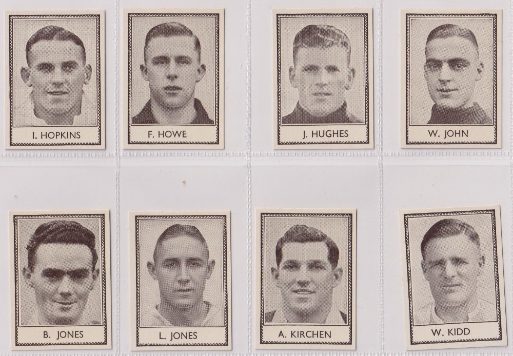 Trade cards, Barratt's, Famous Footballers (Numbered) 'M' size, 1939/40, ref HB-35 E, (set, 110 - Image 15 of 28