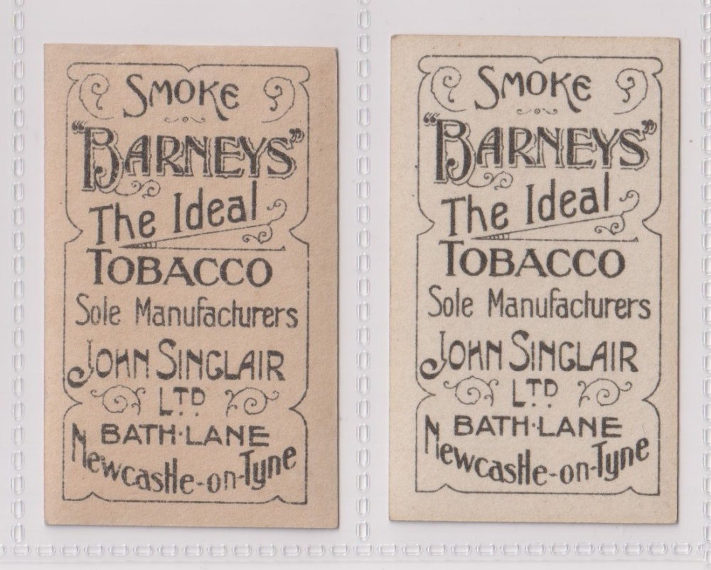 Cigarette cards, John Sinclair, Football Favourites, Sunderland A.F.C, two cards, no 78 Marples ( - Image 2 of 2
