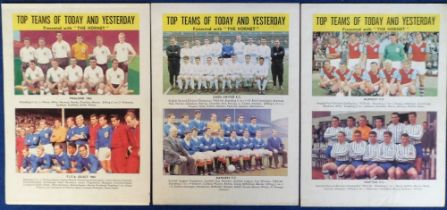 Trade cards, Football, Thomson, Top Teams of Today & Yesterday & Yesterday & Top Players of