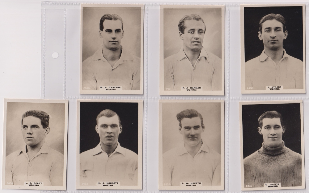 Cigarette cards, Phillips, Footballers (all Pinnace back), 'L' size, 13 different cards, all - Image 3 of 3