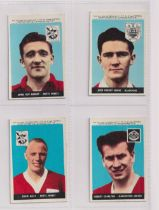 Trade cards, A&BC Gum, Footballers (With 'Planet Ltd', 1-46), 'X' size (set, 46 cards) includes
