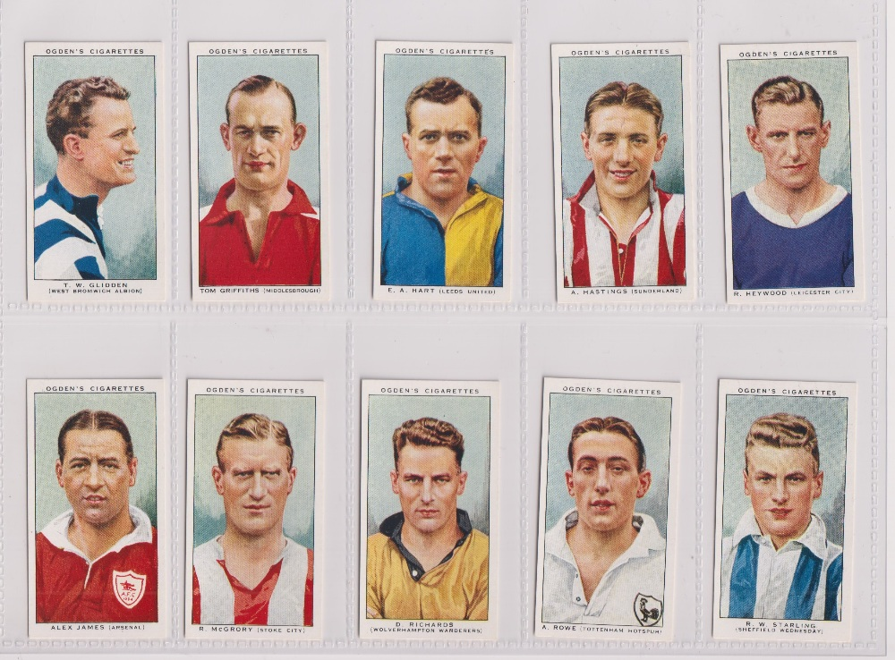 Cigarette cards, Ogden's, three sets, Football Caricatures (50 cards, gd), Football Club Captians ( - Image 2 of 3