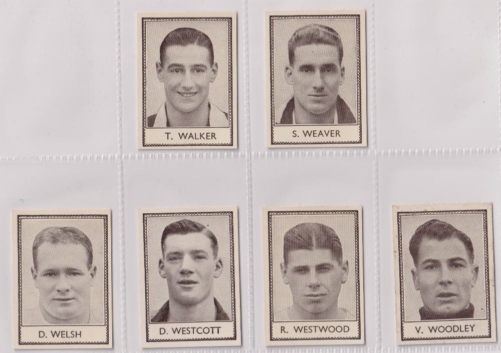 Trade cards, Barratt's, Famous Footballers (Numbered) 'M' size, 1939/40, ref HB-35 E, (set, 110 - Image 27 of 28