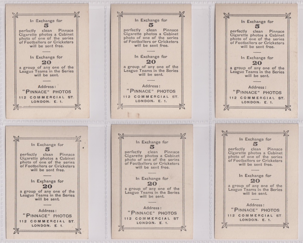 Cigarette cards, Phillips, Footballers (all Pinnace back), 'L' size, 24 different cards, numbered - Image 2 of 5
