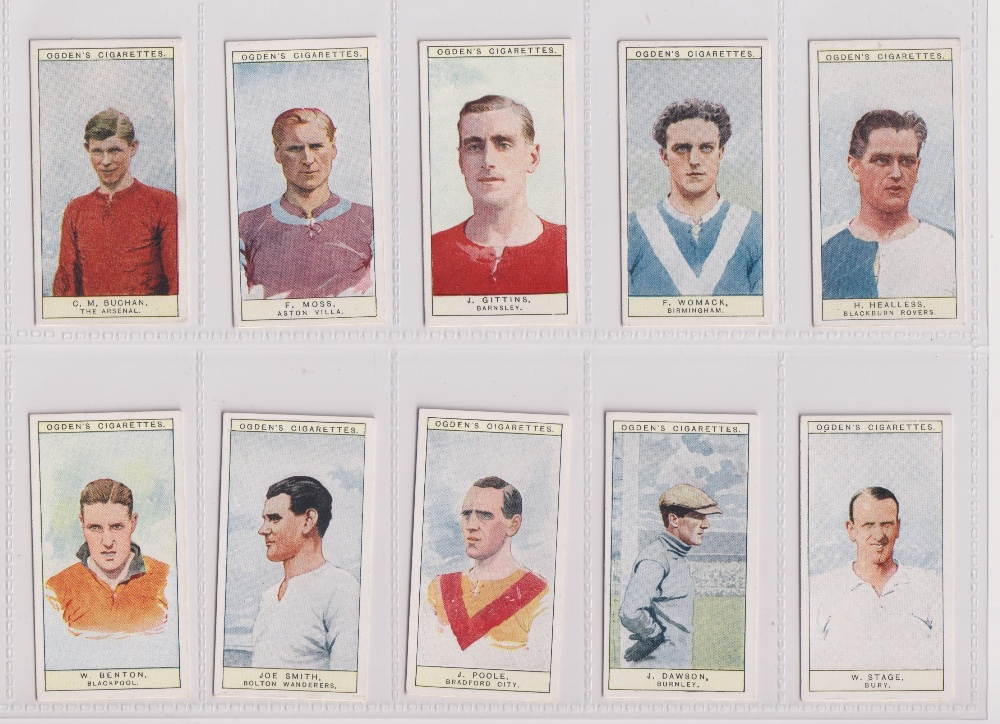 Cigarette cards, Ogden's, three sets, Football Caricatures (50 cards, gd), Football Club Captians ( - Image 3 of 3