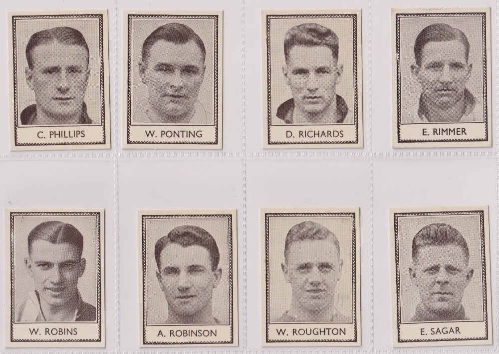 Trade cards, Barratt's, Famous Footballers (Numbered) 'M' size, 1939/40, ref HB-35 E, (set, 110 - Image 23 of 28
