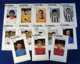 Trade cards, Evening Mail - Sports Argus, Footballer Souvenir Series, Midland Footballers (set, 13