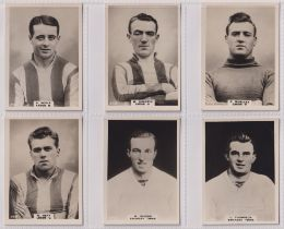 Cigarette cards, Phillips, Footballers (all Pinnace back), 'L' size, 24 different cards, numbered