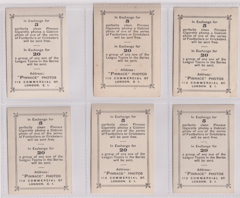 Cigarette cards, Phillips, Footballers (all Pinnace back), 'L' size, 36 different cards, numbered - Image 2 of 7
