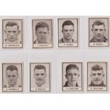 Trade cards, Barratt's, Famous Footballers (Numbered) 'M' size, 1939/40, ref HB-35 E, (set, 110