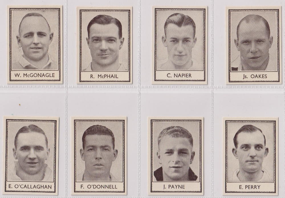 Trade cards, Barratt's, Famous Footballers (Numbered) 'M' size, 1939/40, ref HB-35 E, (set, 110 - Image 21 of 28