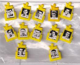 Trade issue, Football, VM Klubben (Sweden), 'VM Fotbols Stjarnor' (1958 World Cup Player Badges),