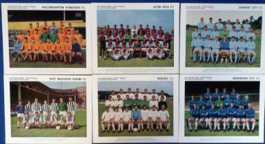 Trade cards, Evening Mail - Sports Argus, Footballer Souvenir Series, Midland Football Teams 1968-9,