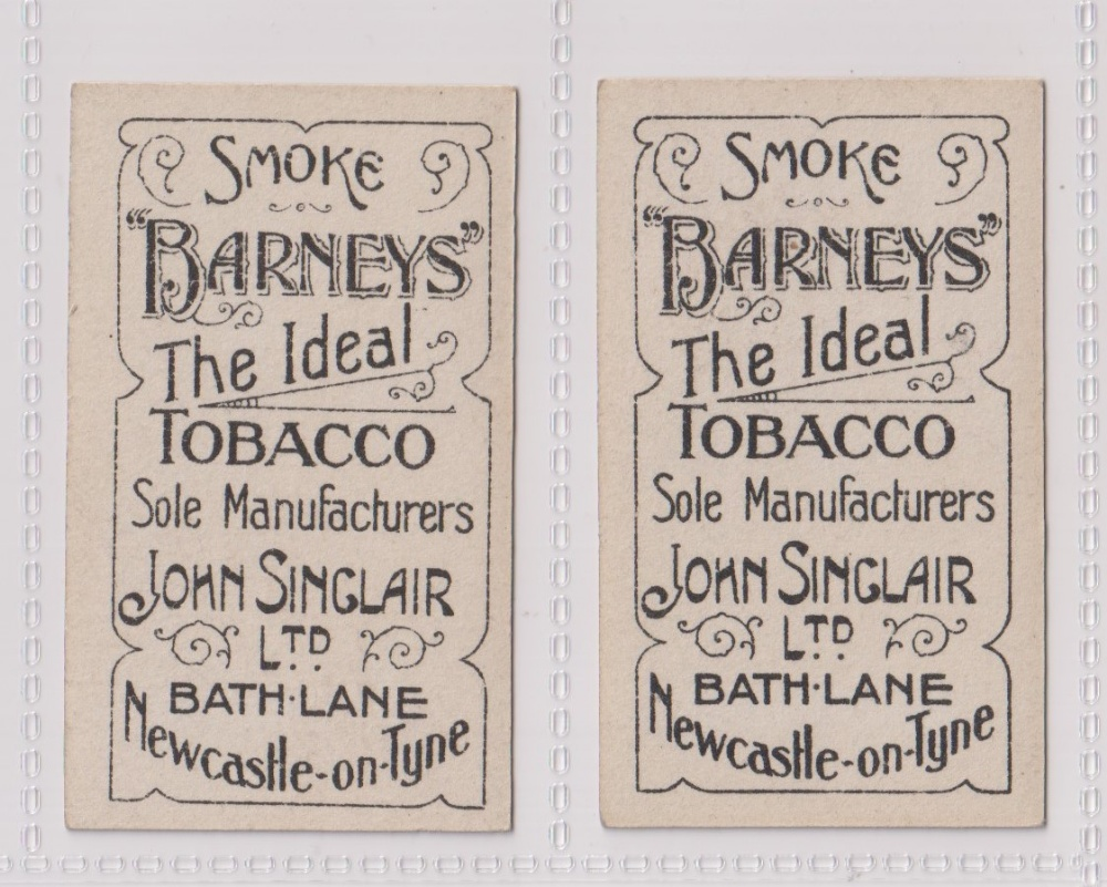 Cigarette cards, John Sinclair, Football Favourites, Middlesboro A.F.C. two cards, no 57 J. - Image 2 of 2