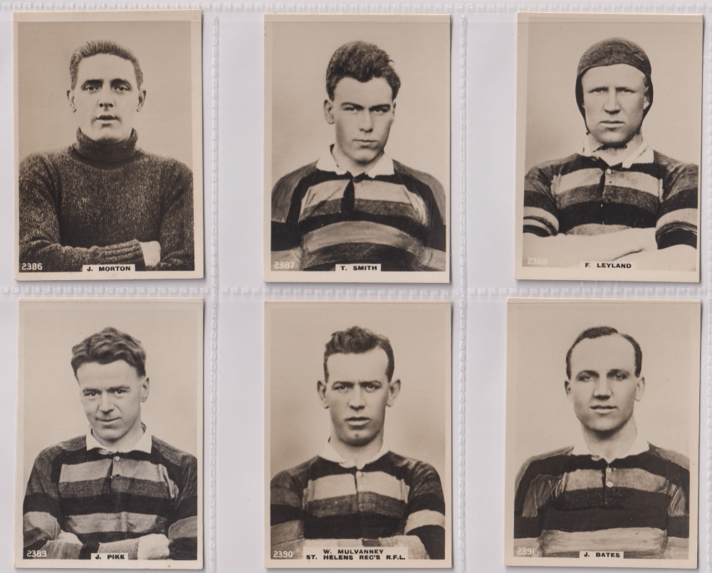 Cigarette cards, Phillips, Footballers (all Pinnace back), 'L' size, 36 different cards, numbered - Image 6 of 7