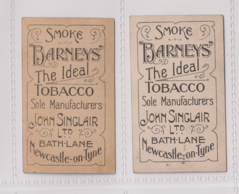 Cigarette cards, John Sinclair, Football Favourites, Bolton Wanderers, two cards, no 52 David Stokes - Image 2 of 2