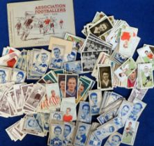 Cigarette cards, Football, a quantity of loose cards inc. Mitchell's, Scottish Football Snaps,