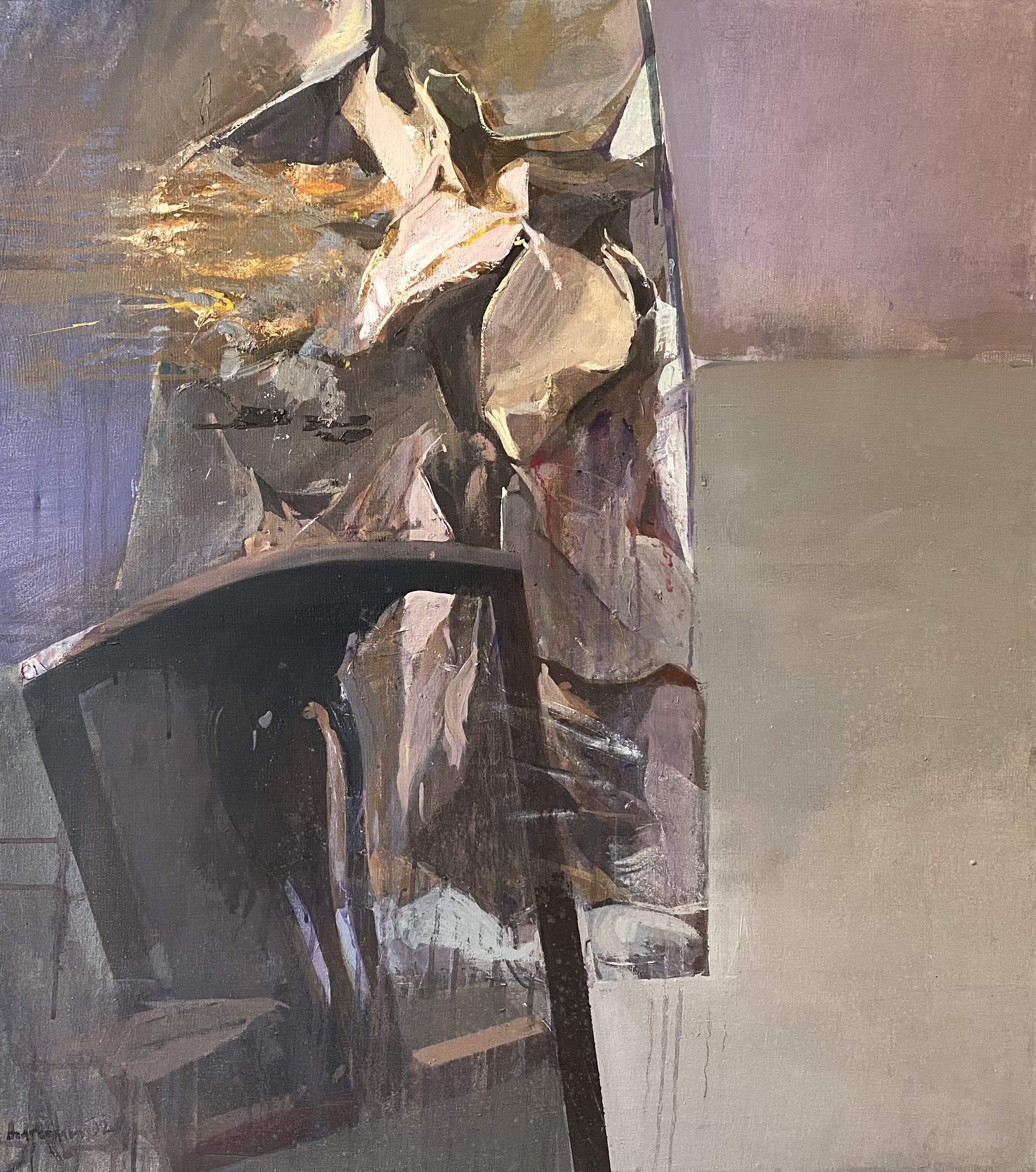 Dimitris Andreadakis (Greek, born 1964) (AR), untitled, 1992, oil on canvas, 92 x 80 cm.