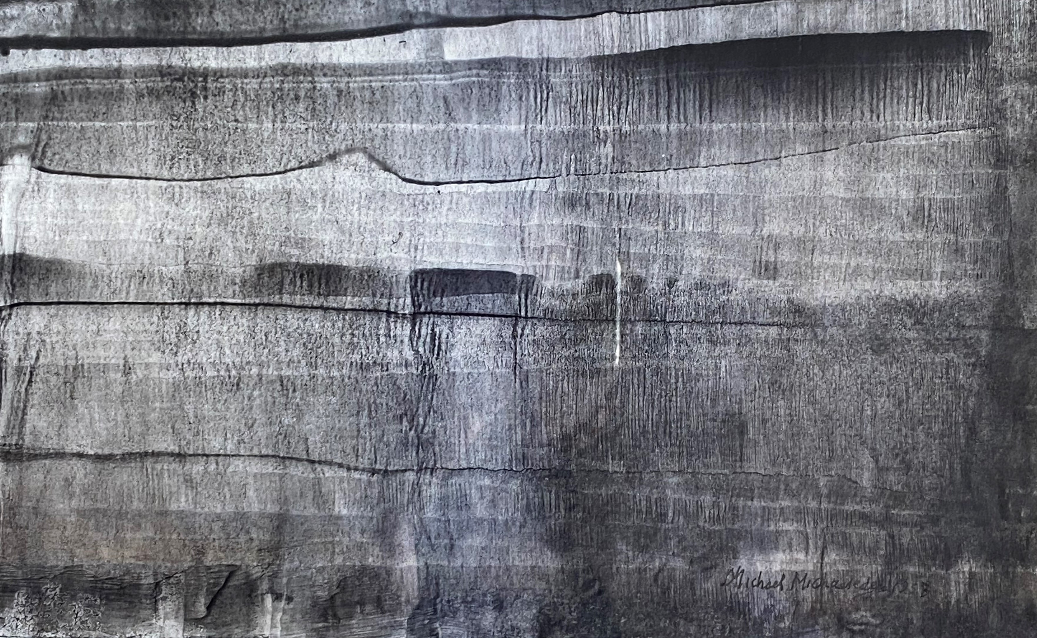 Michael Michaeledes (Cypriot/British, 1922 - 2015) (AR), untitled 1958, ink on paper, 45 x 77 cm. - Image 2 of 2