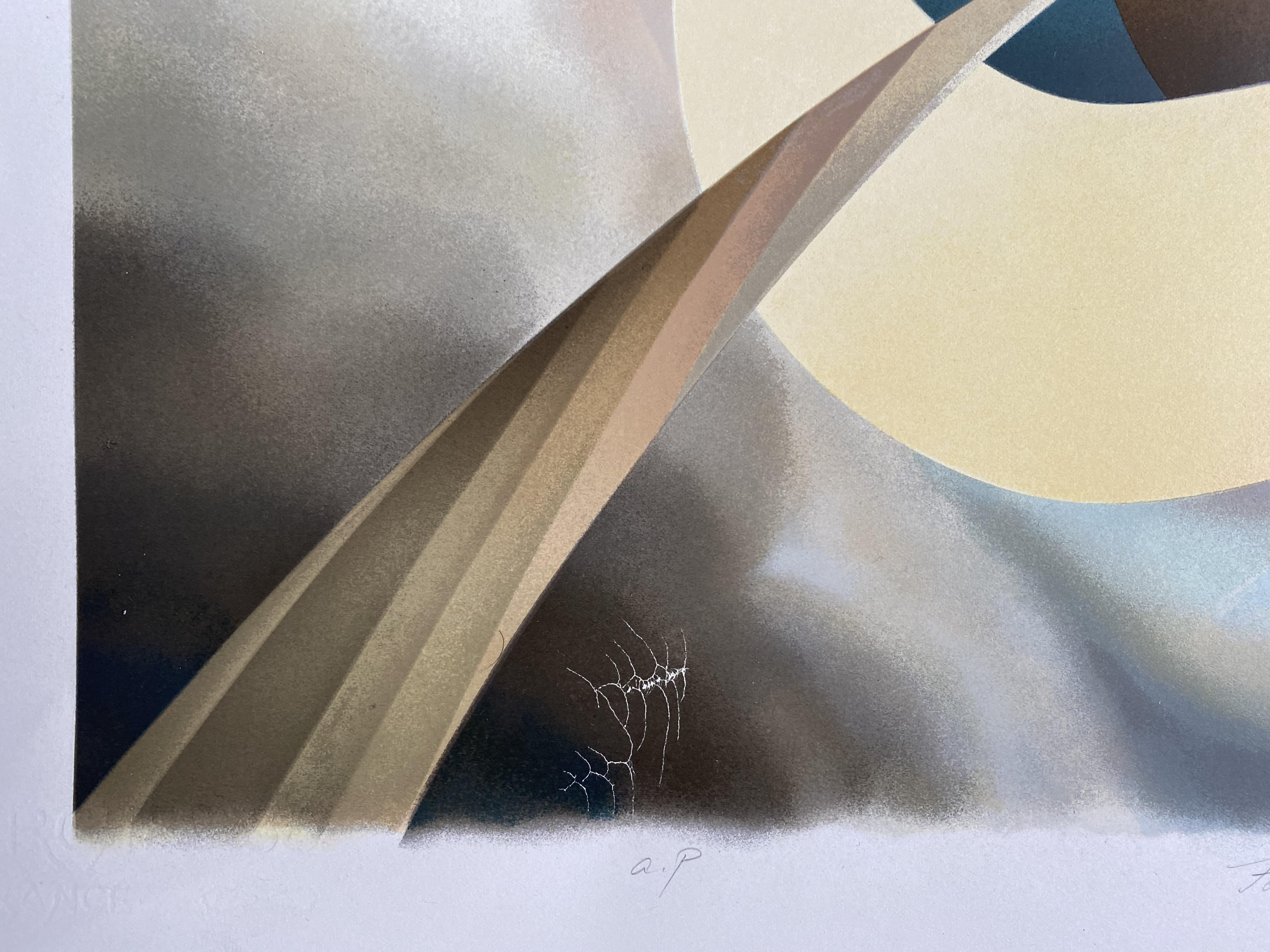 Masaaki Noda (Japanese, b. 1949), silkscreen print - Image 3 of 3