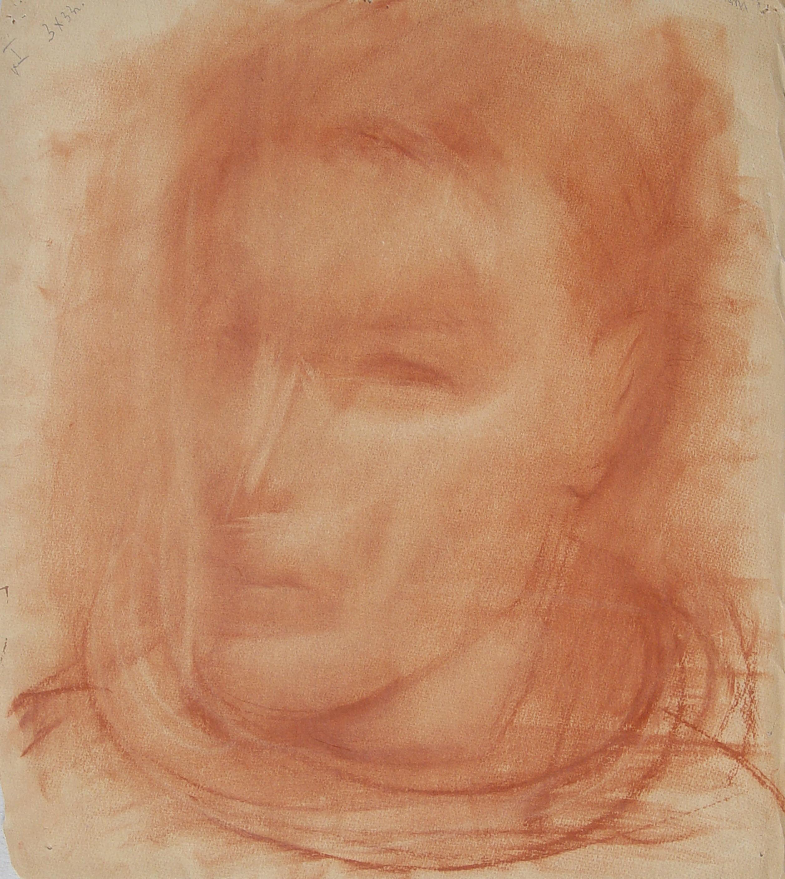 Solomon Borisovich Nikritin (Russian, 1898-1965) (AR), untitled, pastel on paper, 38 x 33 cm.