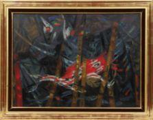 """""""Oiseaux de Nuit"""" de Jean Bertholle (1909-1996) Artiste peintre Français de la [...]"""