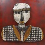 """""""Russel Bromfield"""" de Dominique ALLAIN (né en 1952) Artiste céramiste [...]"""