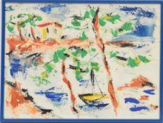 Ger Maas (1931-2020) Artiste peintre luxembourgeoise, membre du CAL Gouache sur [...]
