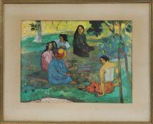 Paul Gauguin (1848-1903) Artiste peintre postimpressionniste français Lithographie [...]