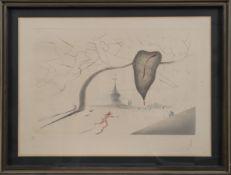 Salvador Dali (1904-1989) Artiste peintre espagnol, l'un des principaux [...]