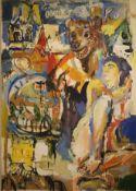 Fernand Bertemes (Né en 1964) Artiste peintre luxembourgeois Œuvre originale. [...]