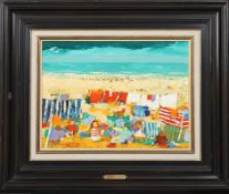 Jos Fred Smith (1920-2009) Artiste peintre français Huile sur bois compressé. [...]