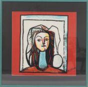 Foulard Picasso (1881-1973) Peintre, dessinateur, sculpteur et graveur espagnol [...]