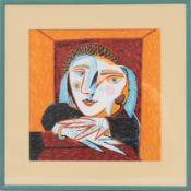 Foulard Picasso Peintre, dessinateur, sculpteur et graveur espagnol Foulard encadré [...]