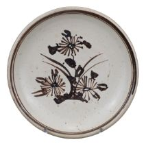CHINESE CIZHOU-TYPE PAINTED POTTERY DISH, MING DYNASTY, 15/16th CENTURY