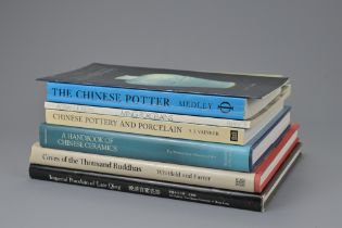 SIX REFERENCE BOOKS ON CHINESE ART AND CERAMICS