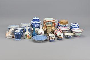 Twenty-Five Pieces of Chinese and Japanese Miniatu