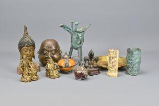 Thirteen Various Oriental Items