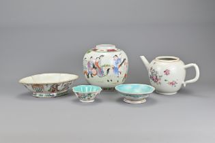 A Group of 18/19th Century Chinese Porcelain